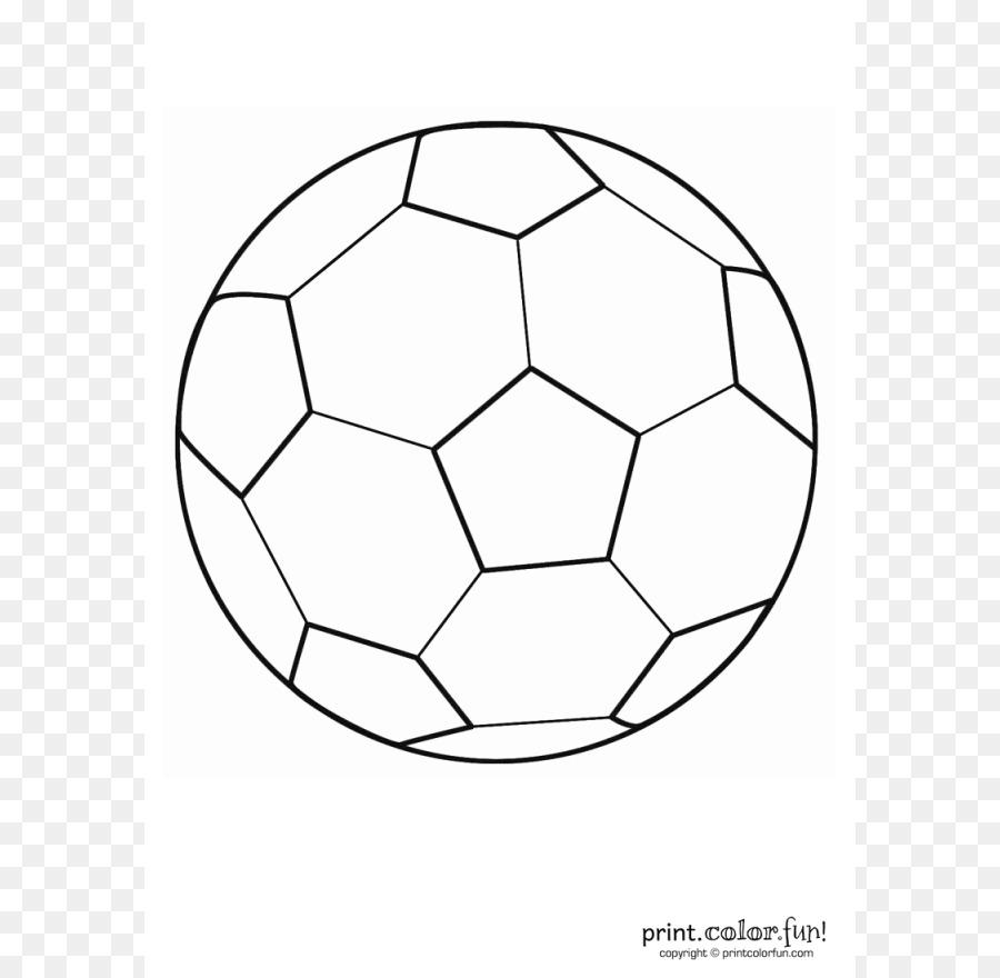 Boyama Kitabi Futbol Nike Tekme Futbol Topu Anahat Seffaf Png
