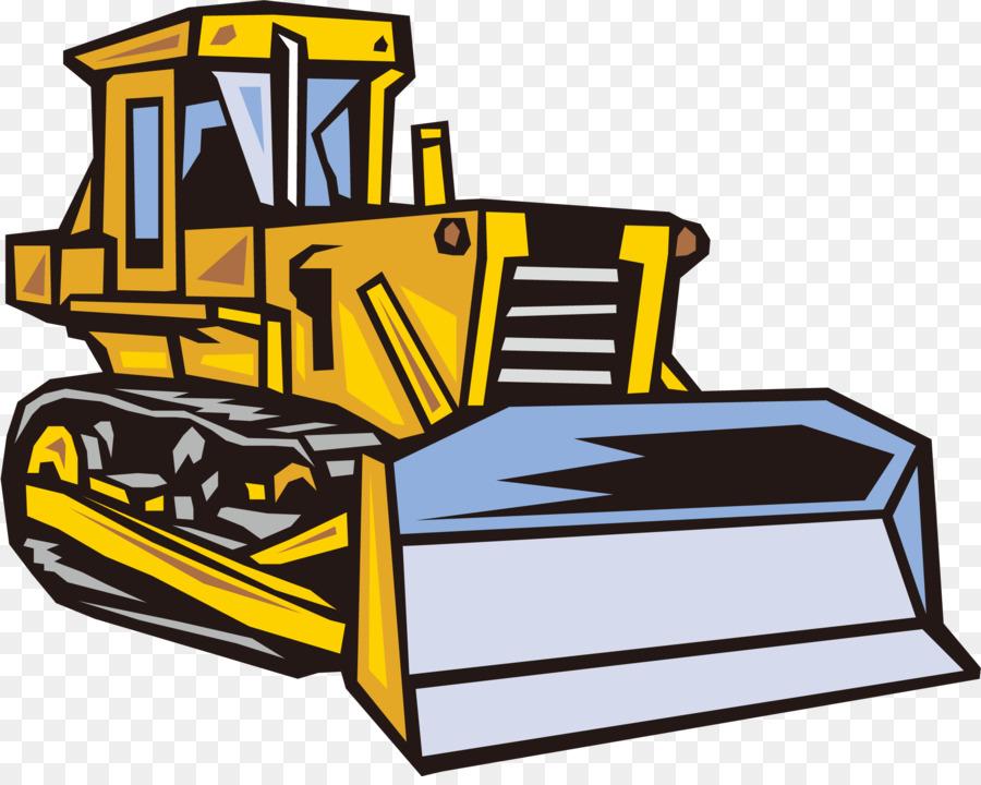 Рисунок бульдозера для логотипа
