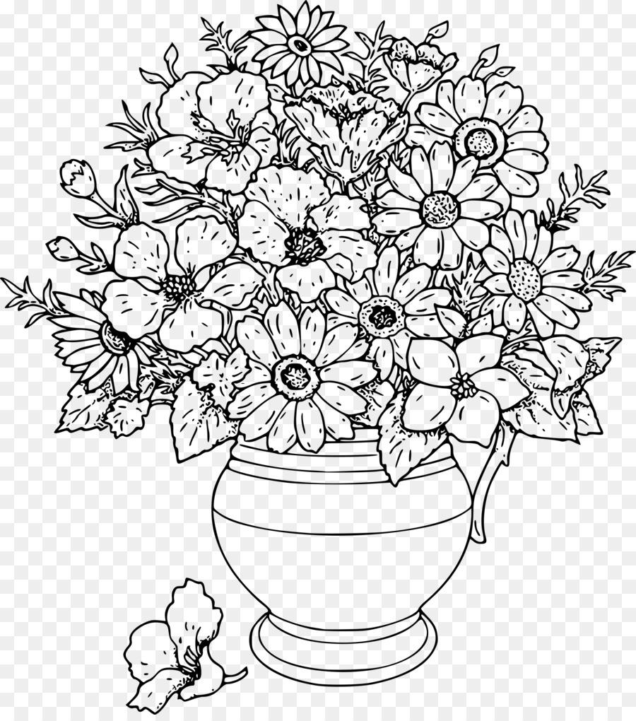 çocuklar Için Boyama Sayfaları Yetişkinler Boyama çiçek