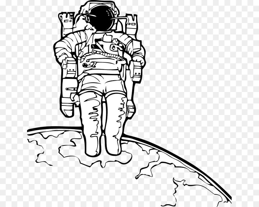 Astronot Boyama Kitabi Uzay Cizim Uzay Elbisesi Astronot Vektor