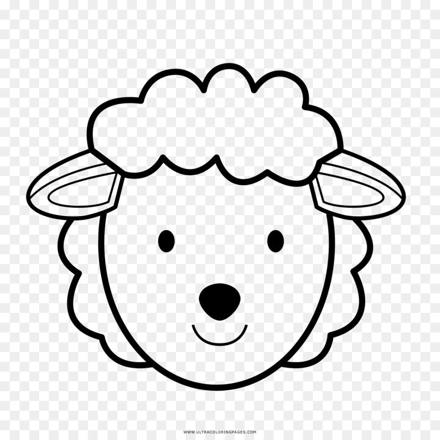 Koyun Cizim Boyama Kitabi Kuzu Ve Koyun Eti Koyun Seffaf Png