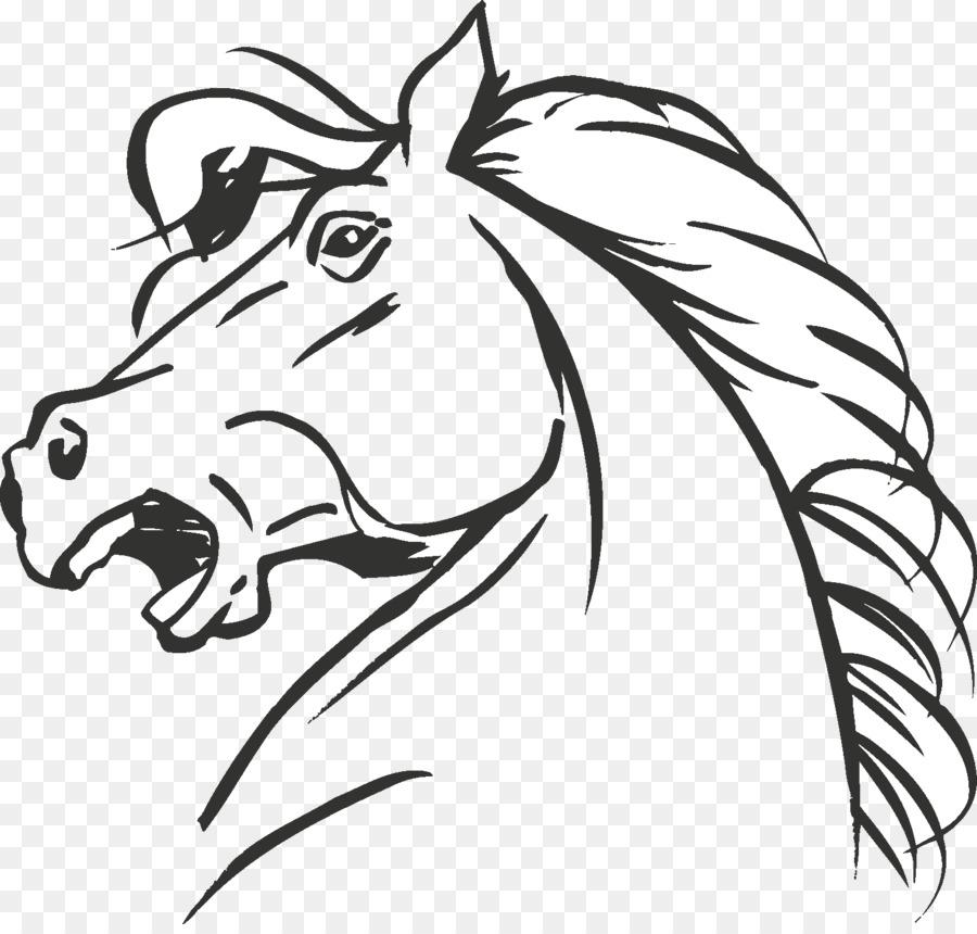 Perulu Paso Boyama Kitabı At Kafası Maskesi çizim