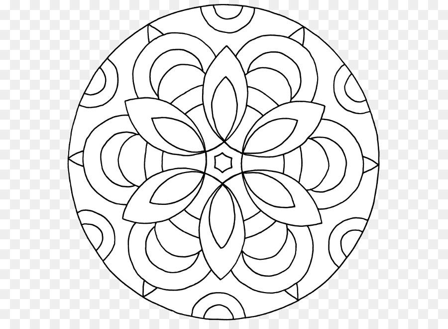 Mandala Boyama Kitaby Yetithkin Resim Cizmek