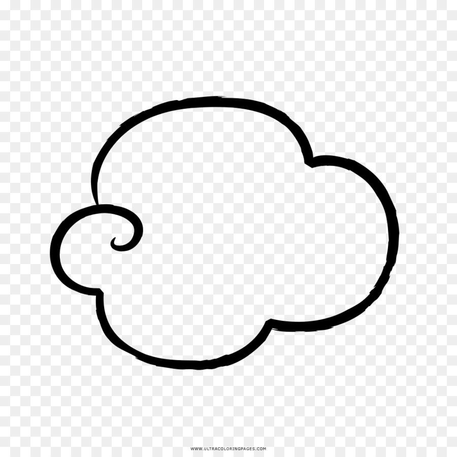 çizim Bulut Boyama Kitabı Boyama Bulut şeffaf Png Görüntüsü