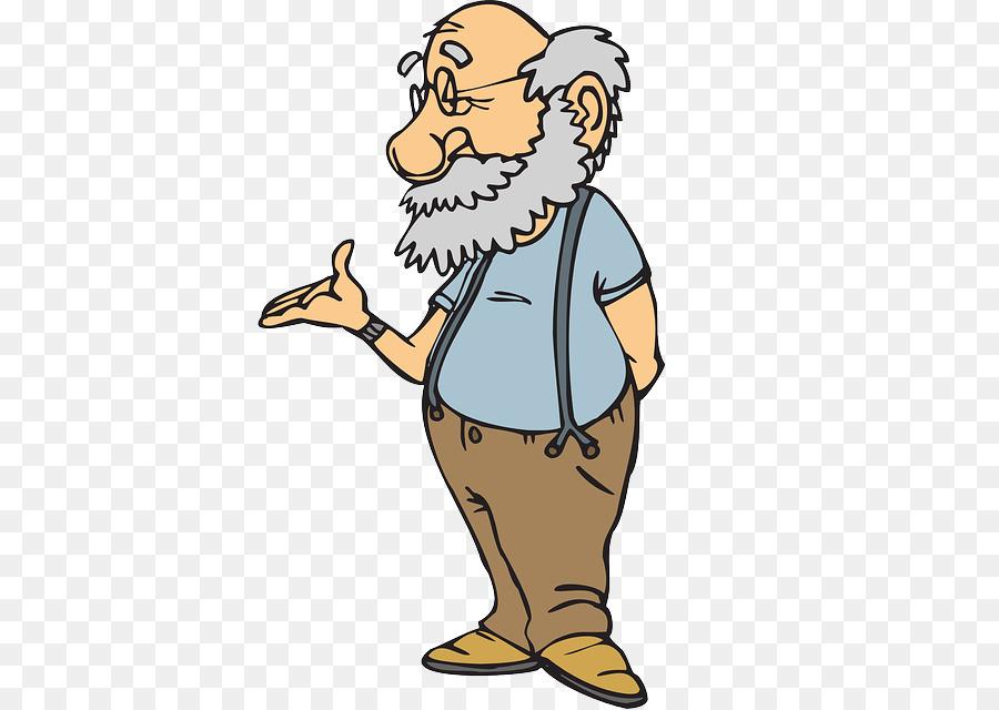 Рисунок прикольного старика, поздравления