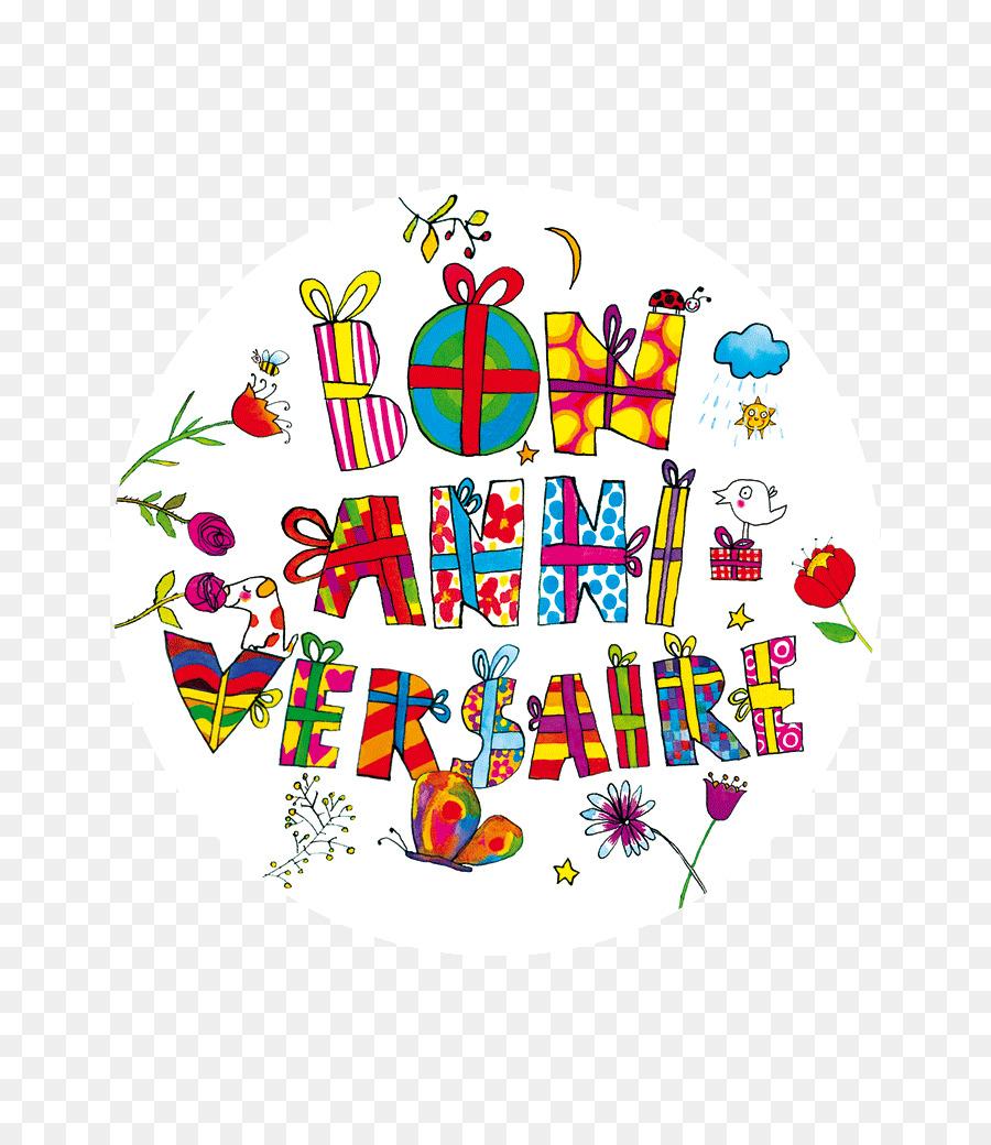 Видео открытка с днем рождения на французском