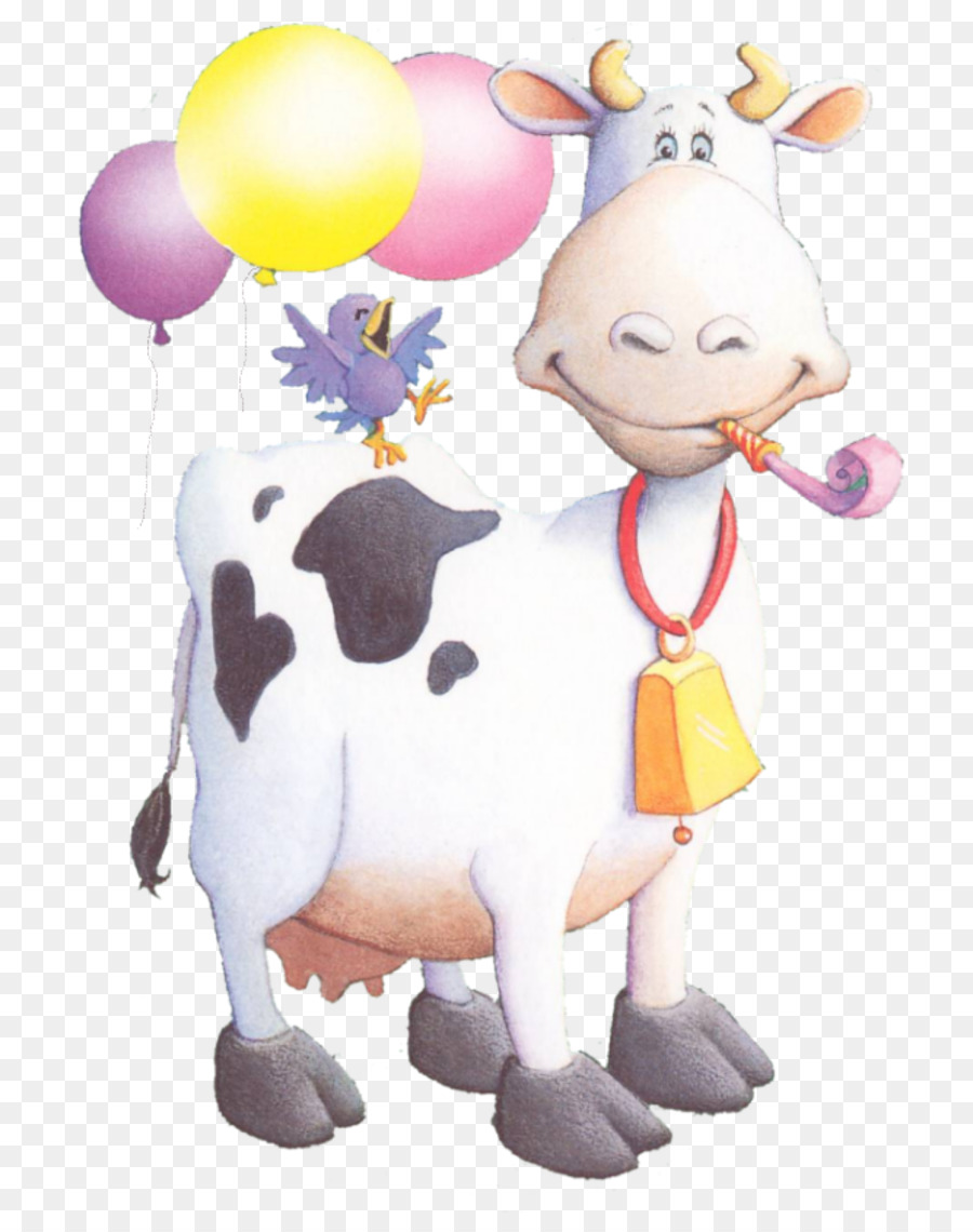 картинка корова с днем рождения жилой дом или