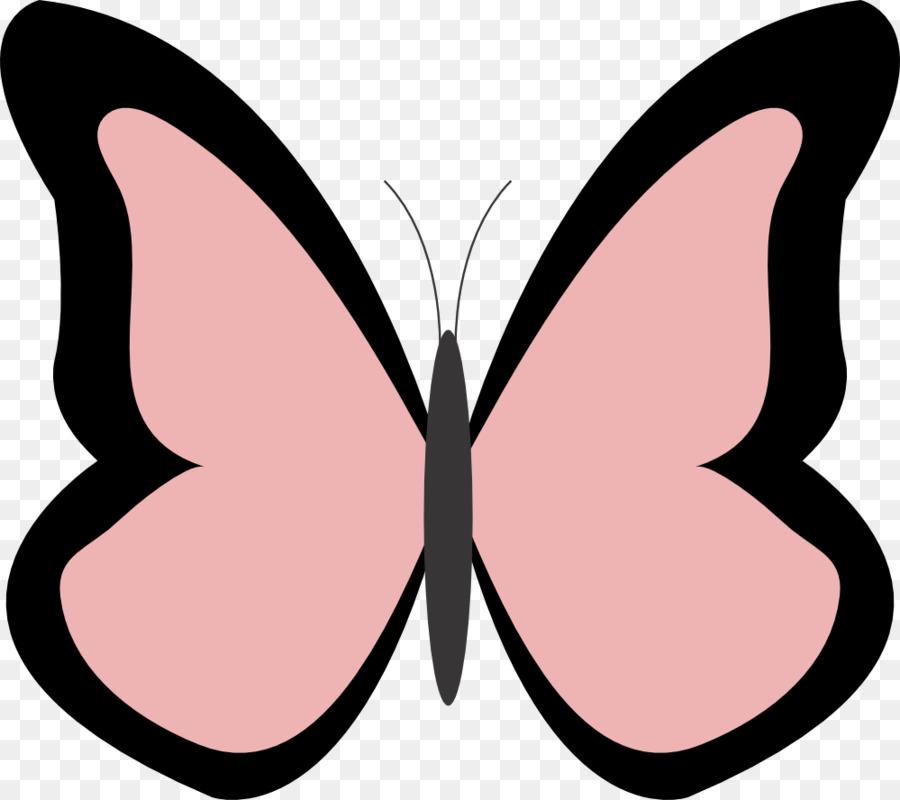Monarch Kelebek Boyama Kitabi Kucuk Resim Kelebek Seffaf Png