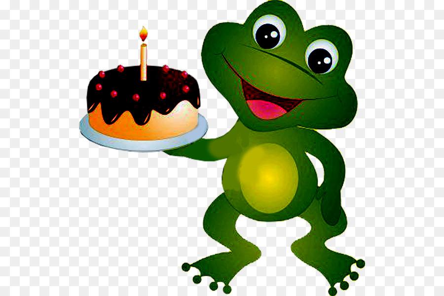 Лягушка с днем рождения картинка