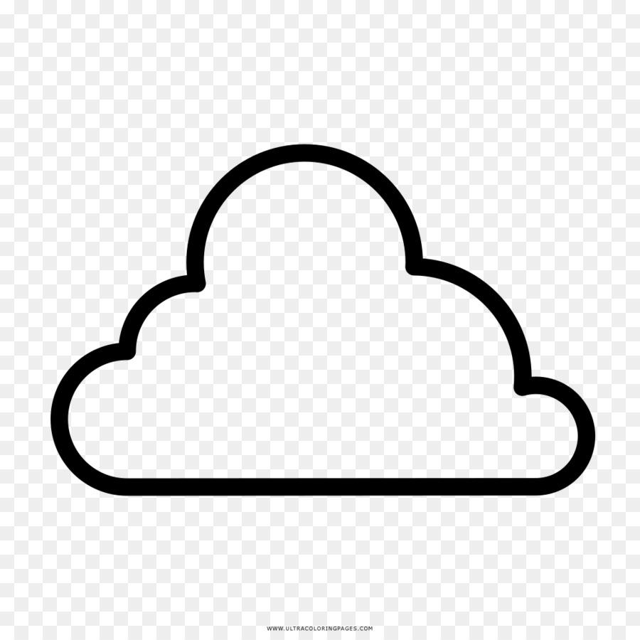 Bulut çizim Kitabı Yağmur Boyama Bulut şeffaf Png Görüntüsü