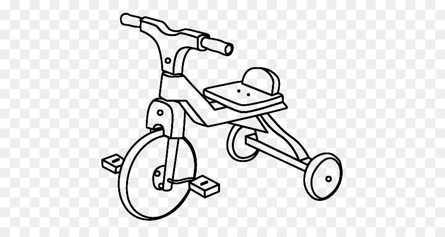 Bisiklet Boyama Kitabi Cizim Arac Sayfalari Bisiklet Boyama