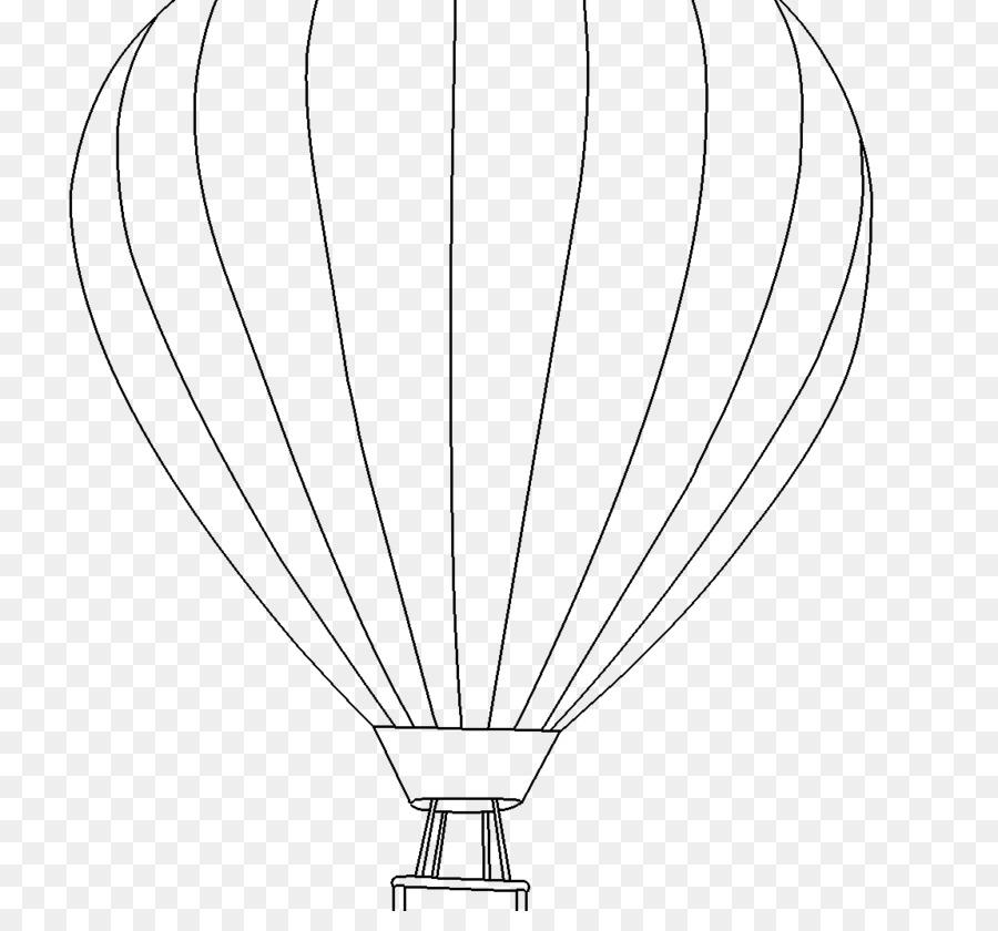 Sicak Hava Balonu Kitap Cocuk Yetiskin Boyama Balon Seffaf Png