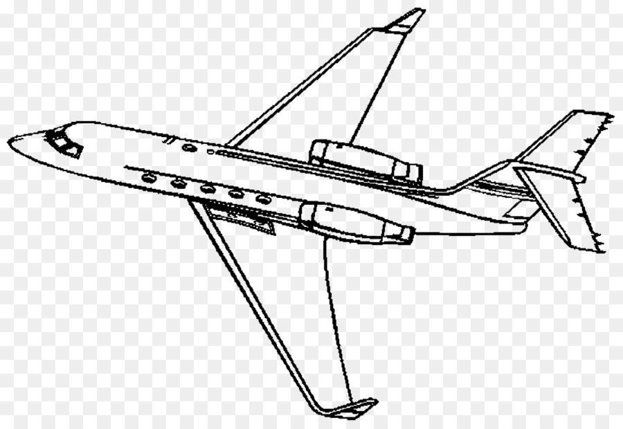 Ucak Boyama Kitabi Jet Ucak Business Jet Savas Ucagi Ucak Seffaf
