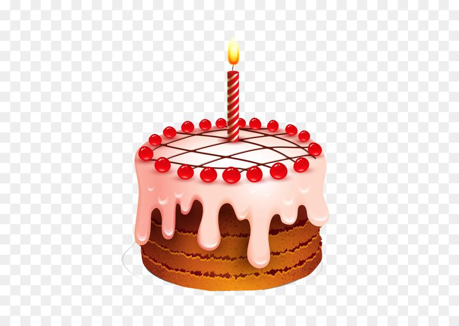 Открытка торт с одной свечкой, праздники