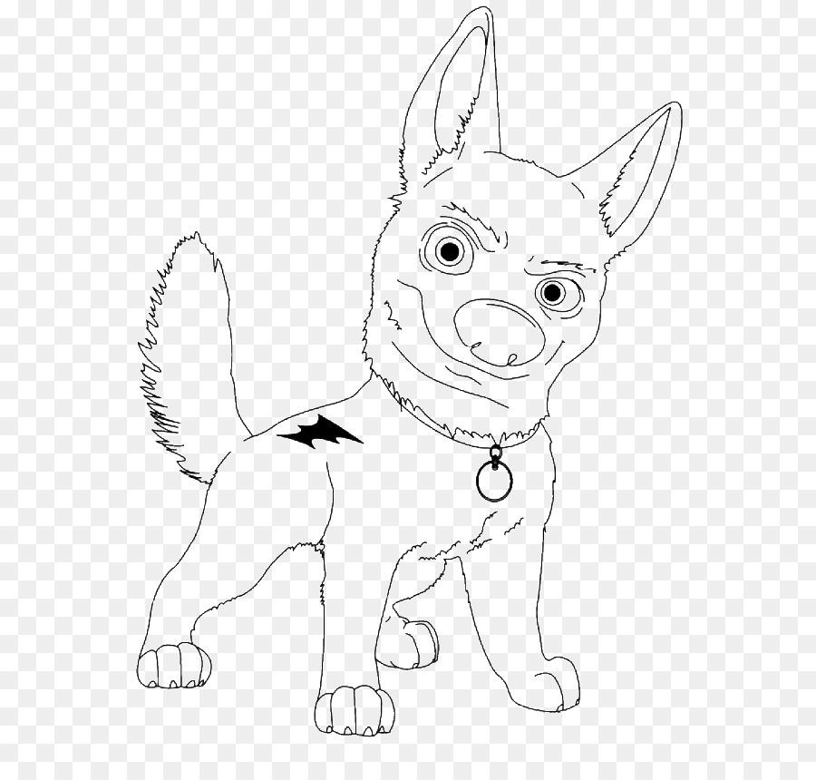 Bolt Boyama Kitabı Köpek Boyama Sayfaları çizim Bay