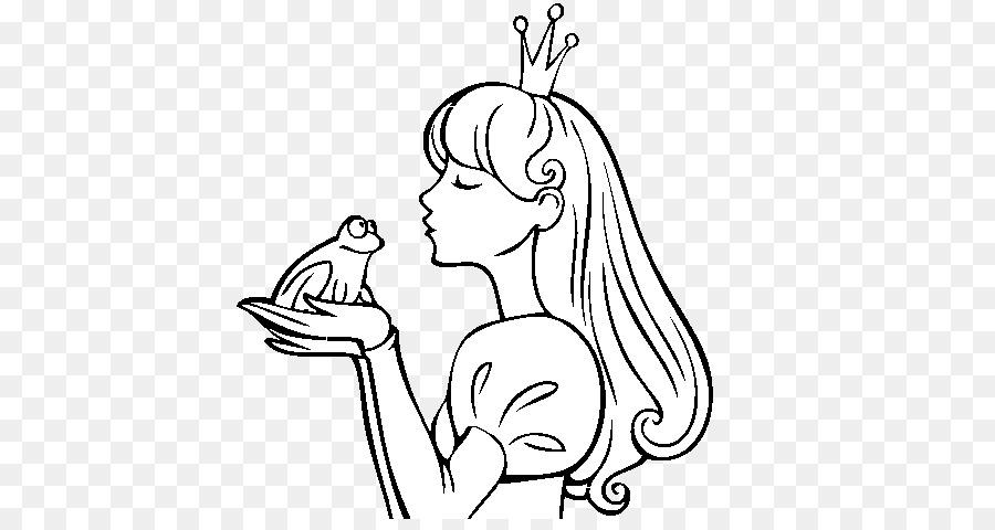 Kurbağa Boyama Kitabı Prenses çizim Rapunzel Prens Boyama
