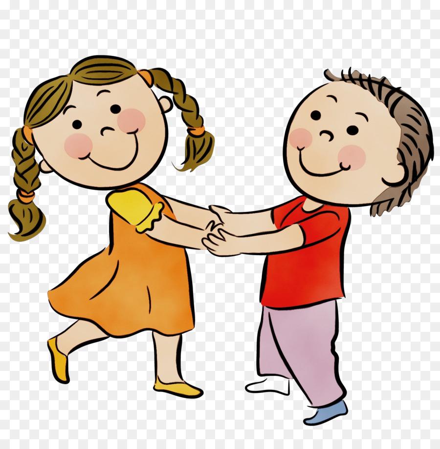 Дети танцуют в картинках для детей, наступающим