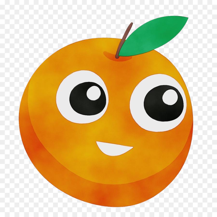 Картинка веселый мандарин